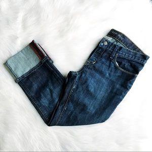 Banana Republic Modern Skinny Cuffed Crop Jean